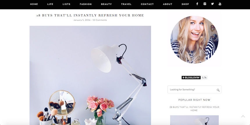 lifestyle, fashion, beauty,  Hannah Gale, favourites, current obsession, blogs, websites,