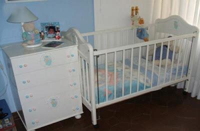 Dormitorio para bebe colores claros dormitorios para varones - Dormitorios de bebes recien nacidos ...