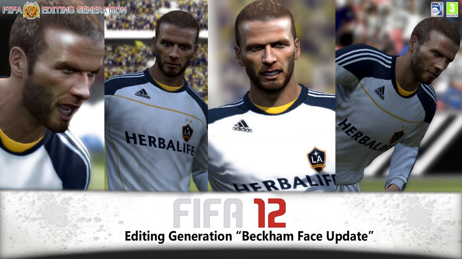 David Beckham Face FIFA 14