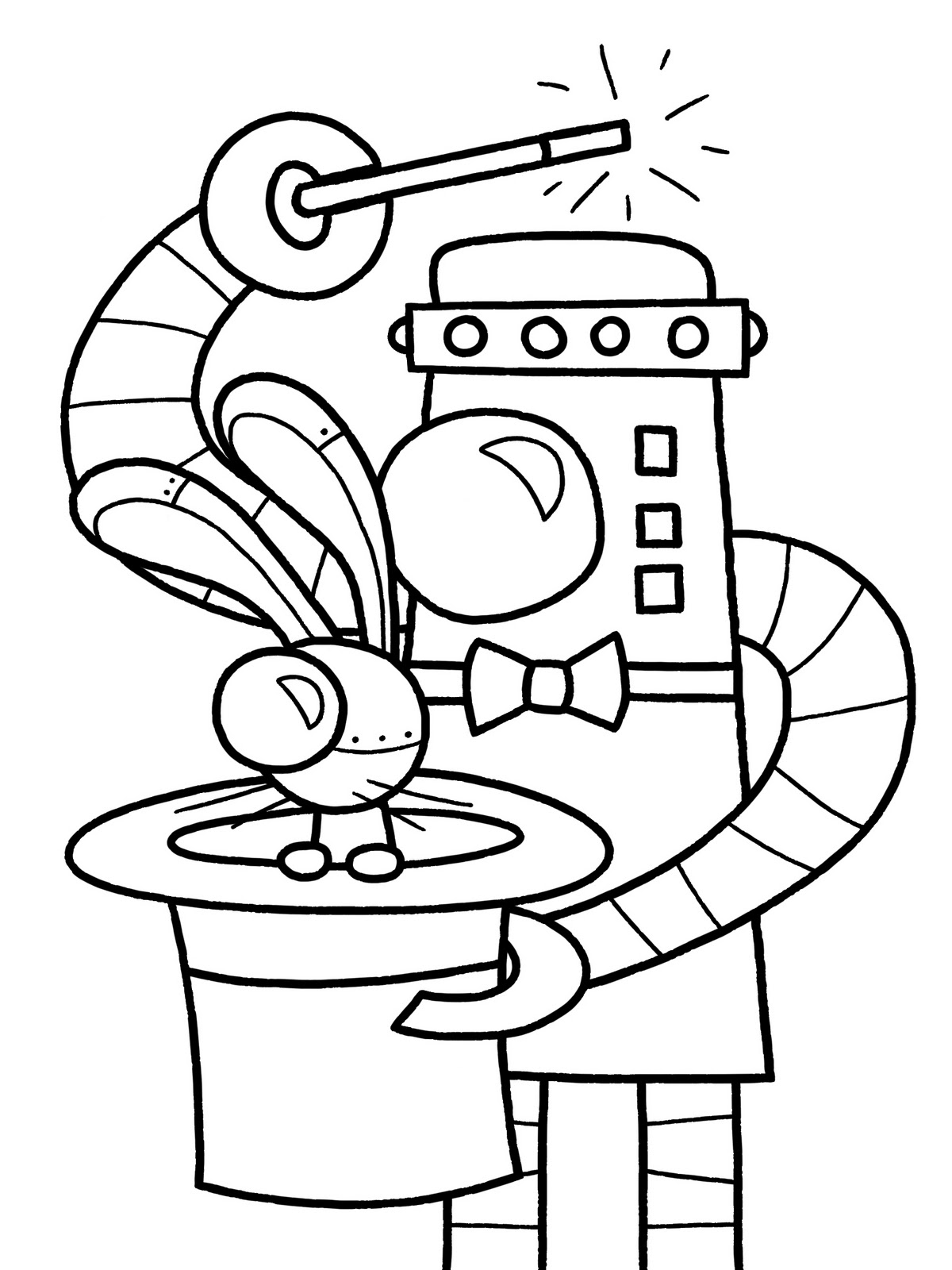 Free printable coloring pages robots - Robot Coloring Pages On Pinterest Coloring Free Printable Coloring Free Printable Pictures Coloring Pages For Kids