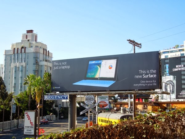 Surface 2 billboard