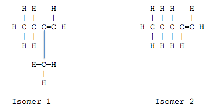 Structural Formula C5h10 Molecular Formula C5h10
