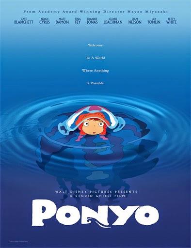 Ver Ponyo y el secreto de la sirenita (Gake no Ue no Ponyo) (2008) Online