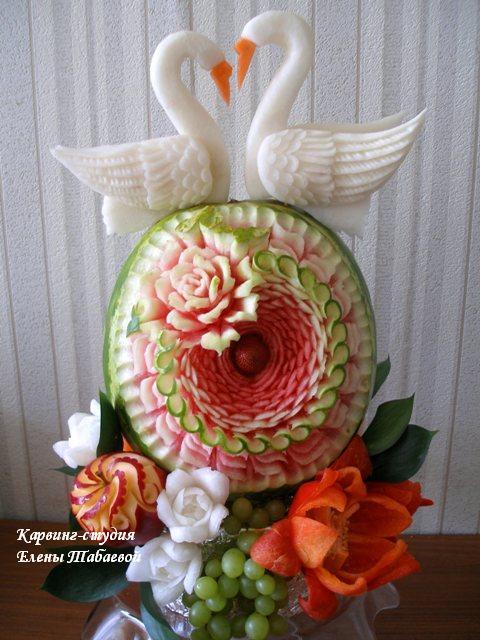 вырезать арбуз на свадьбу в южно-сахалинске