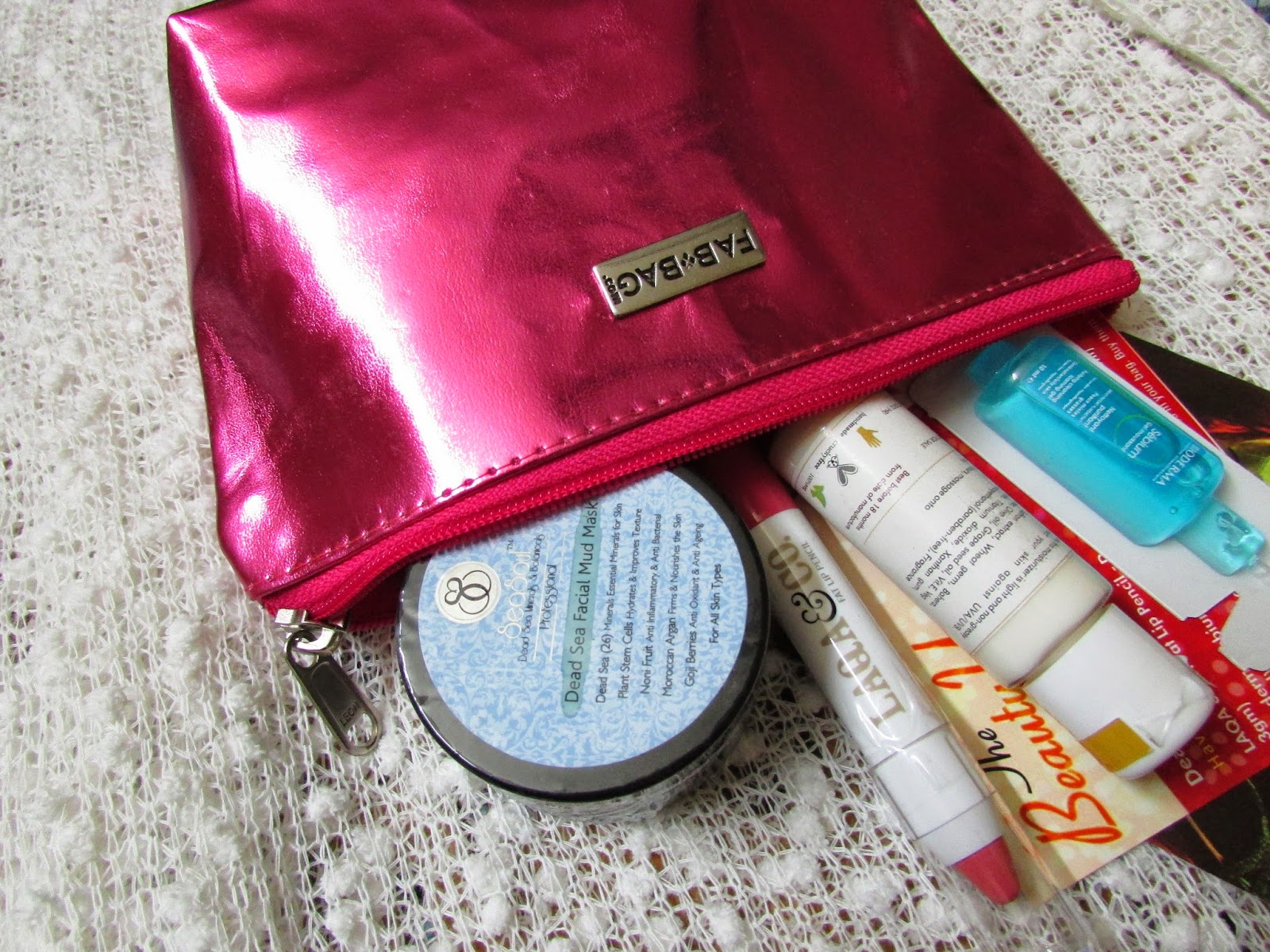 January Fab Bag price, January Fab Bag Review, Fab Bag, Fab Bag india, Fab Bag subscription, Seasoul Dead Skin Facial Mud Mask, Bioderma Sebium Gel Moussant Face Wash, Splurge Daily Moisturizer with Sun Protection, LAQA & Co. Fat Lip Pencil,IndieEco, Kronokare, makeup monthly subscription service, ,beauty , fashion,beauty and fashion,beauty blog, fashion blog , indian beauty blog,indian fashion blog, beauty and fashion blog, indian beauty and fashion blog, indian bloggers, indian beauty bloggers, indian fashion bloggers,indian bloggers online, top 10 indian bloggers, top indian bloggers,top 10 fashion bloggers, indian bloggers on blogspot,home remedies, how to