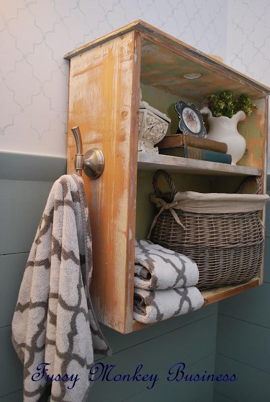 Bath Towel Hooks Shelf