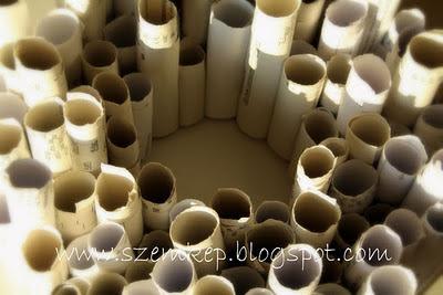 papír koszorú