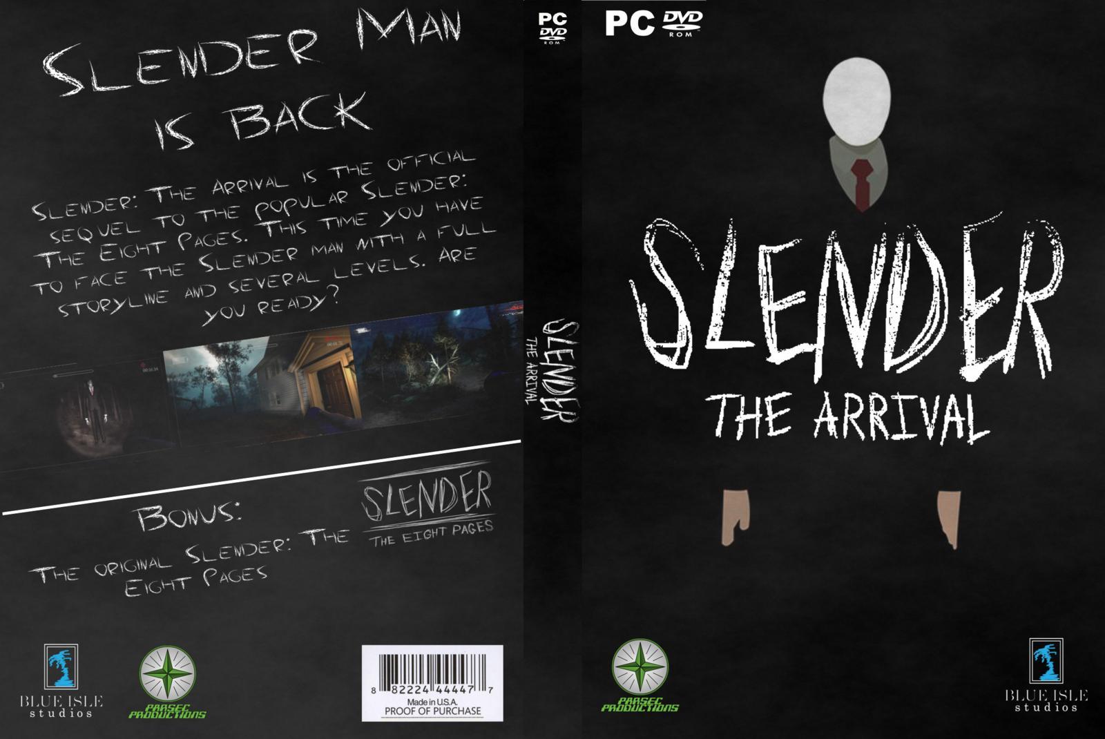 Slender The Arrival PC DVD Capa