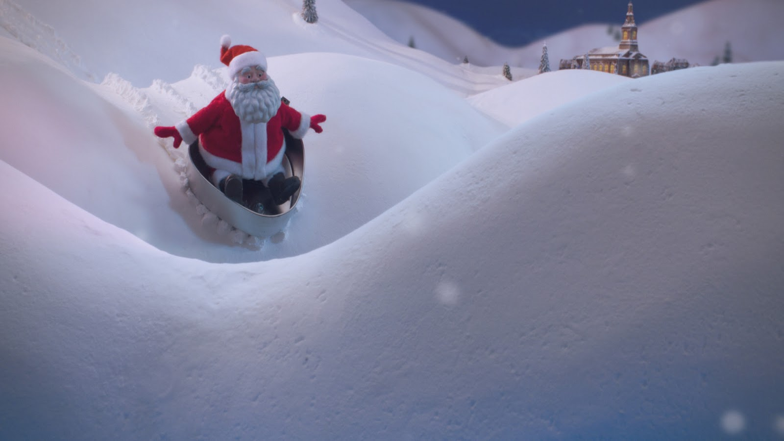 Animated Film Reviews: Norelco Santa Christmas Commercial