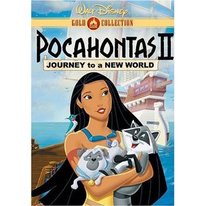 DVD cover Pocahontas II: Journey to a New World 1998