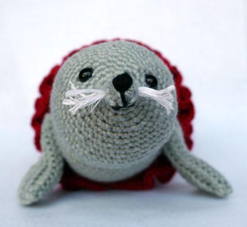 Muso foca amigurumi