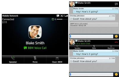 BBM 7 Versi Beta Hadirkan Fitur BBM Voice Call