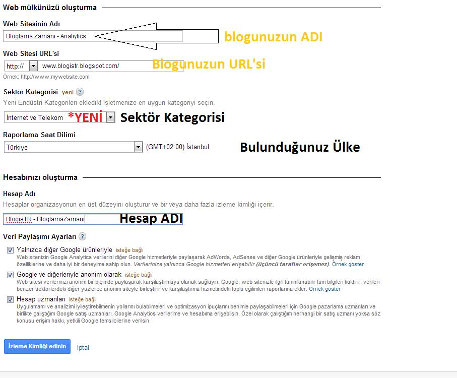Google Analytics Kayıt Olmak - Kurulumu - Özellikleri