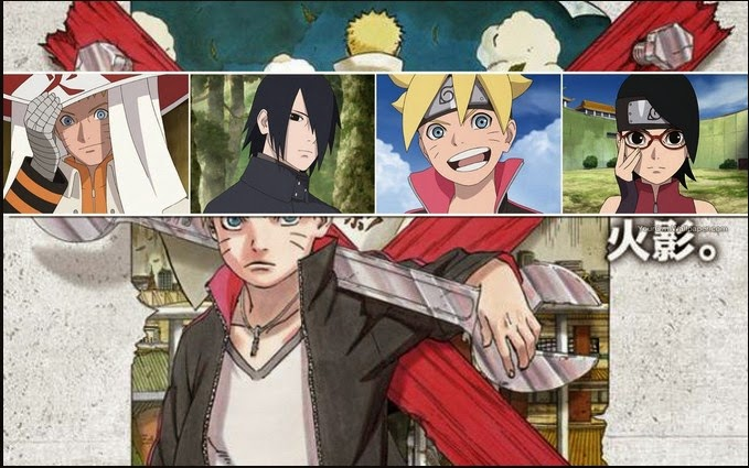 Kumpulan Screenshot Dan Wallpaper Boruto The Movie