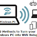 Turn windows pc into wifi Hotspot
