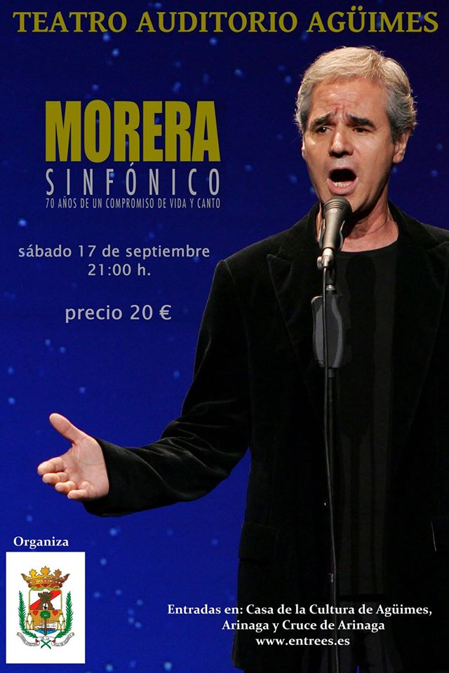 """""""Morera Sinfónico"""" en el Teatro Auditorio Agüimes"""