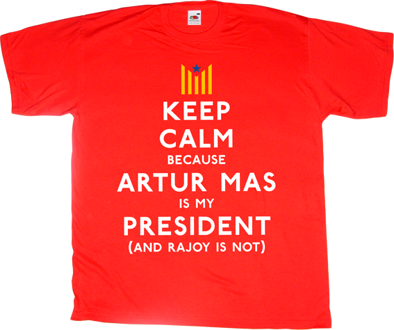 independence catalonia freedom artur mas rajoy spain is different useless spanish politics brand spain t-shirt ephemeral-t-shirts