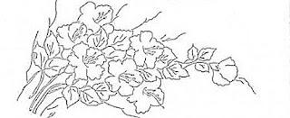 ramo de hibiscos