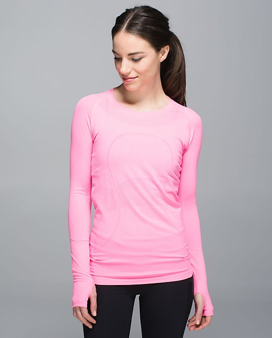 lululemon neon pink swiftly