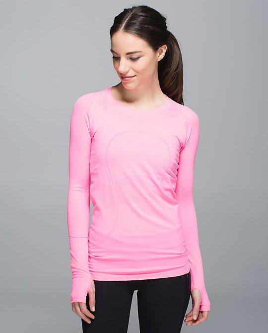 lululemon neon pink swiftly
