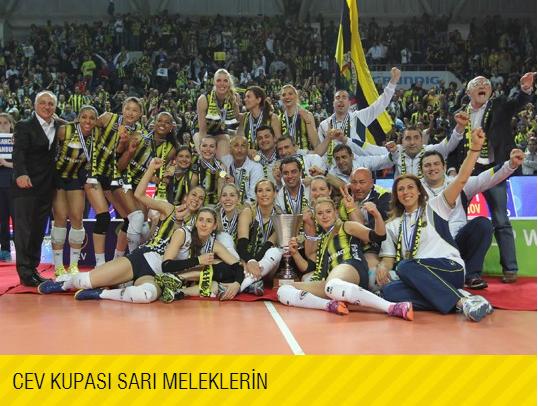 2013-2014 CEV CUP ŞAMPİYONU