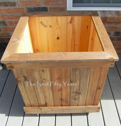 how to build a deep planter box