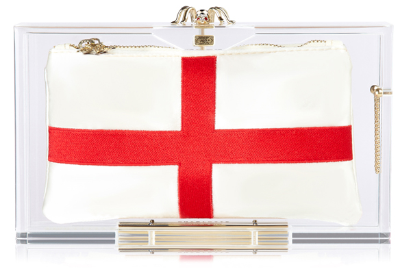 Charlotte Olympia Hat Trick Pandora box clutch England