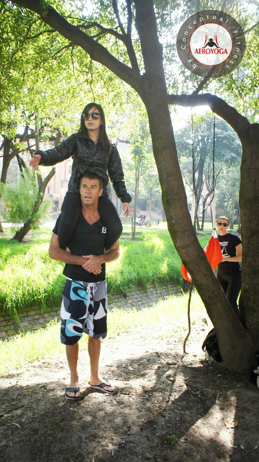 """Foto: GRACIAS Colombia!.En estas fotos:AEROYOGA® NATURA© WORKSHOP Taller realizado con los alumnos de la certificación de AeroYoga® Bogotá MARZO 2014.Emocionados de concluir la SEGUNDA promoción de profesores de Yoga Aéreo© colombiana by AeroYoga®. Una nueva aventura de AeroYoga®, en colaboración con la revolución del fitness en Colombia: """"Be 1 Goal for 3 Months"""" en este maravilloso pais americano que nos ha recibido con los brazos abiertos.CONTACT: aeroyoga@aeroyoga.infowww.aeroyoga.co Hot line y teléfono gratis por Whatsapp: marca desde Colombia y toda Latinoamérica +34 680905699Lugar:Be 1 Goal For 3 Months CR 19 NO 125-34Bogotá, Colombia www.be1x3.comMIRA EL ALBUM COMPLETO AQUIhttps://www.facebook.com/media/set/?set=a.678969102121656.1073741848.121538201198085&type=3Información General-PRIMER METODO AEREO ORIGINAL REGISTRADO INTERNACIONALMENTE EN EUROPA, ESPAÑA Y LATIONAMERICA.-""""PRIMER CENTRO DE FORMACION DE PROFSORES DE YOGA AEREO DE EUROPA""""-""""PRIMER METODO QUE INCLUYE TRES METODOS REGISTRADOS ORIGINALES ENTRE OTROS: EL YOGA AEREO© EL PILATES AEREO© Y EL FITNESS AEREO©-PRIMER METOO AEREO INTERNACIONAL REGISTRADO QUE INCLUYE TRES NIVELES DE INTENSIDAD, DESDE EL YOGA AEREO RESTAURATIVO© AL YOGA AEREO ACROBATICO©3 marcas originales en el mismo curso, 3 modalidades para todos los gustos, desde la holística a la aeróbica, pasando por la técnica y la acrobática.en la foto Paola Garcia Cornejo#aero #aereo #aerialyoga #yogaaereo #aeroyoga #yogaswing#bienestar #wellness #pilates #pilatesaereo #teacherstraining #colombia #certificacion #mexico #españa #fitness #gym #deporte #arte #art #danza #dance #pole #air #aire #columpio #aerien #balançoire #swing #acrobatic #acroyoga #acrobatico"""