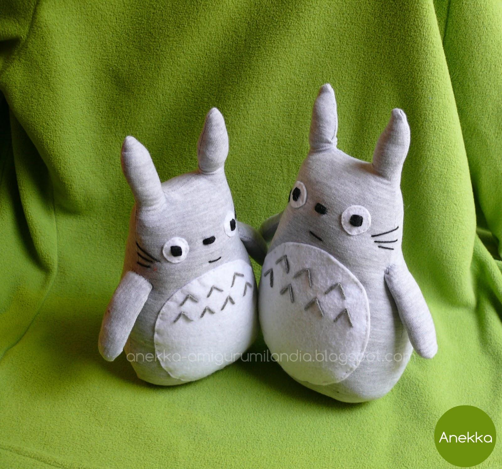totoros de trapo para niños anekka-amigurumilandia.blogspot.com.es