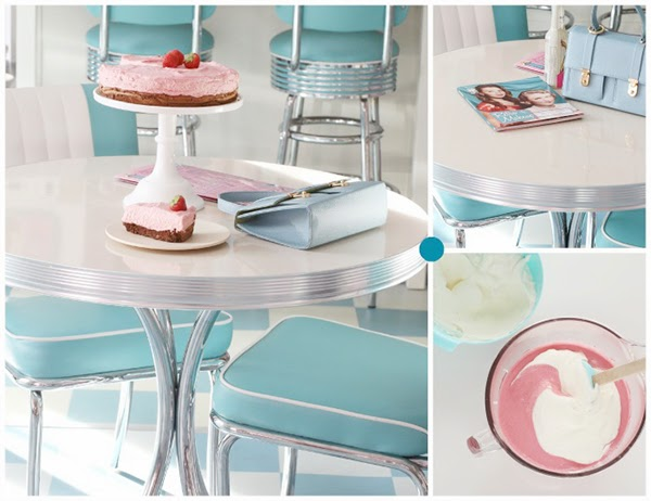 Retro baking diner set for the kitchen. Retro Pastel Kitchen Colors That'll Make You Squeal!