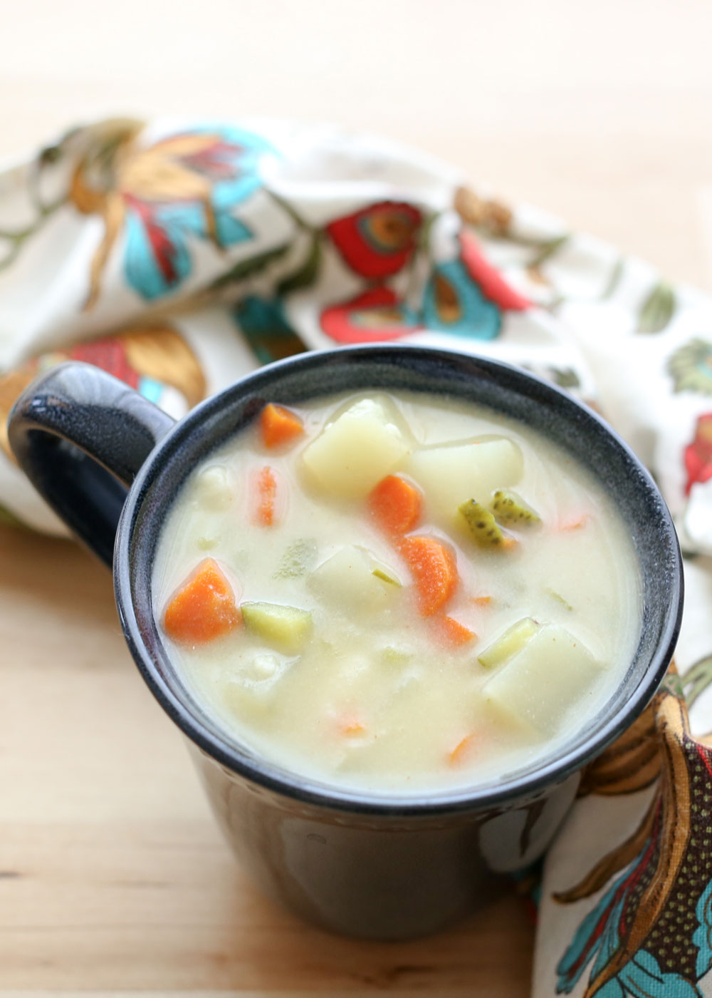 Creamy, potato chowder style soup, loaded with dill pickles and a heck of a lot of flavor, this Dill Pickle Soup is unforgettable!
