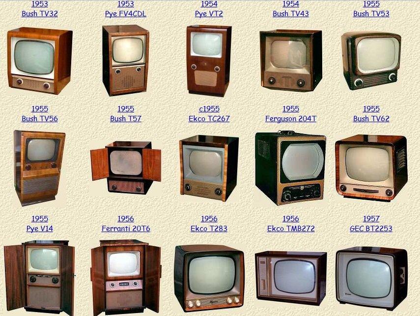 Los televisores historia for Fotos de televisores