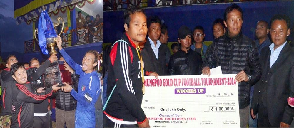 Birtamod FC  Nepal wins Mungpoo Gold Cup 2014