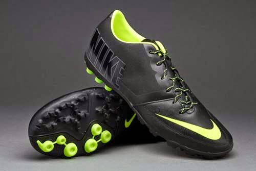 Nike Bomba Pro II with Black and Green Colors