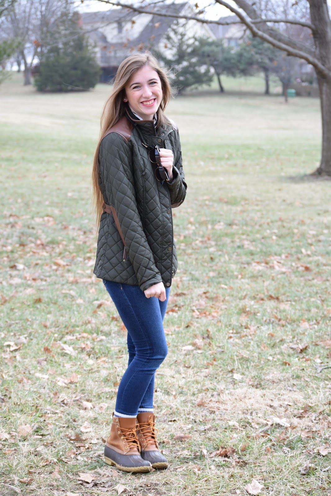 Ralph Lauren Olive Quilted Jacket Falling For Autumn