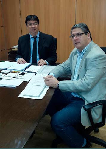 Paulo Marques e Caio Rocha, Secretário Nacional do Ministério do Desenvolvimento Social e Agrário