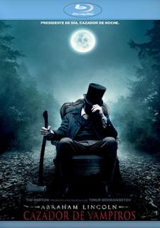 Carátula Abraham Lincoln: Cazador de Vampiros película HD 1080p latino 2012