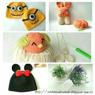 tığişi,  crochet, amigurumi,  minniemouse, minions, handmade, elyapımı, hediye, hediyelik, elişi, örgü, diy, kendinyap, hobi, hobby