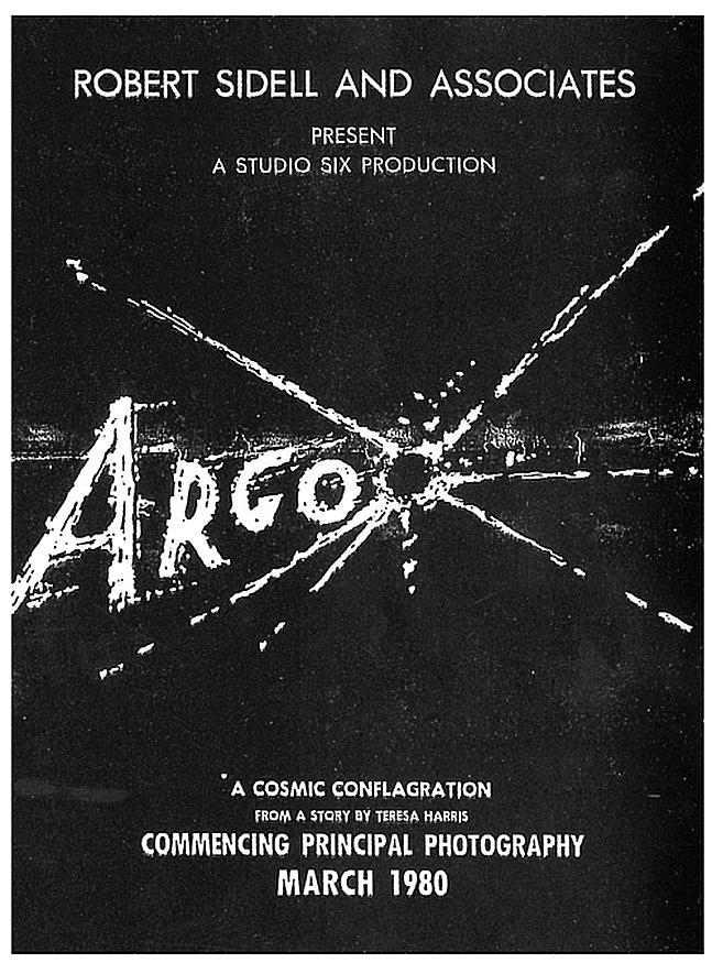 Original CIA Argo poster