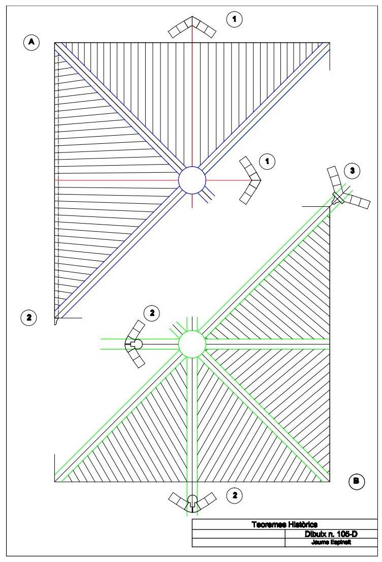 Arquitectura medieval la disposici dels carreus d una for Cassettone d una volta