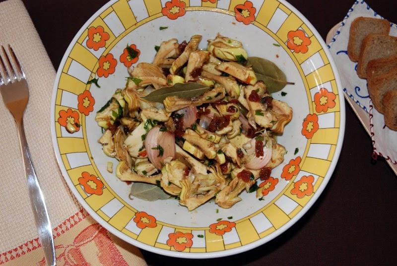 Cocinar y mas alcachofas marinadas for Cocinar alcachofas