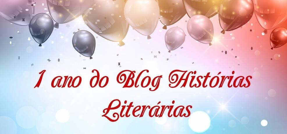 Sorteio 1 Ano Blog Histórias Literárias