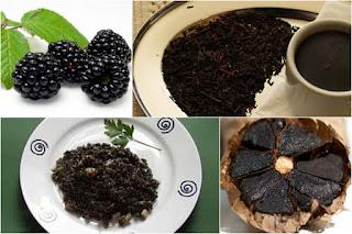 alimentos negros para adelgazar