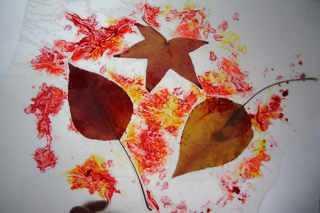 Toddler Approved Fall Leaf Color Hunt Amp Wax Paper Creations