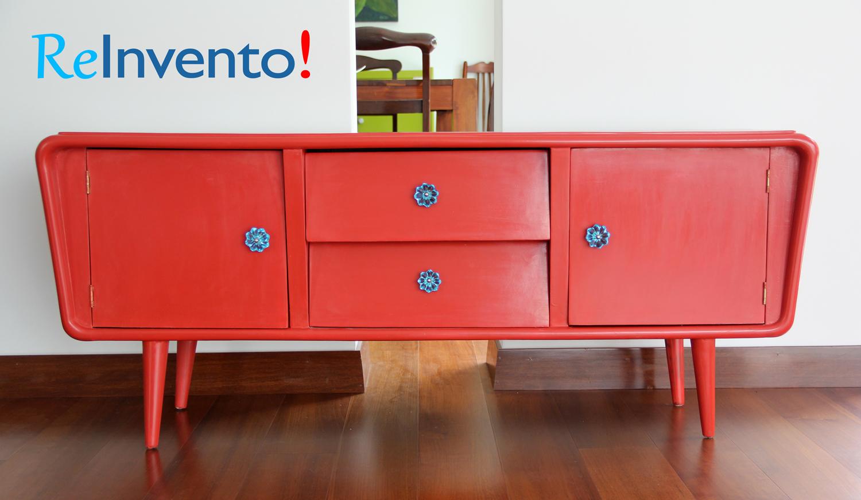 Muebles de dise o a la venta reinvento muebles - Reciclado de muebles viejos ...