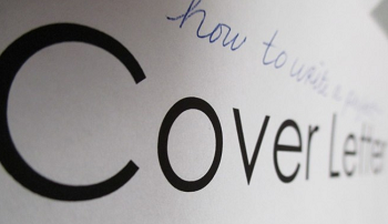 Crafting an effective cover letter