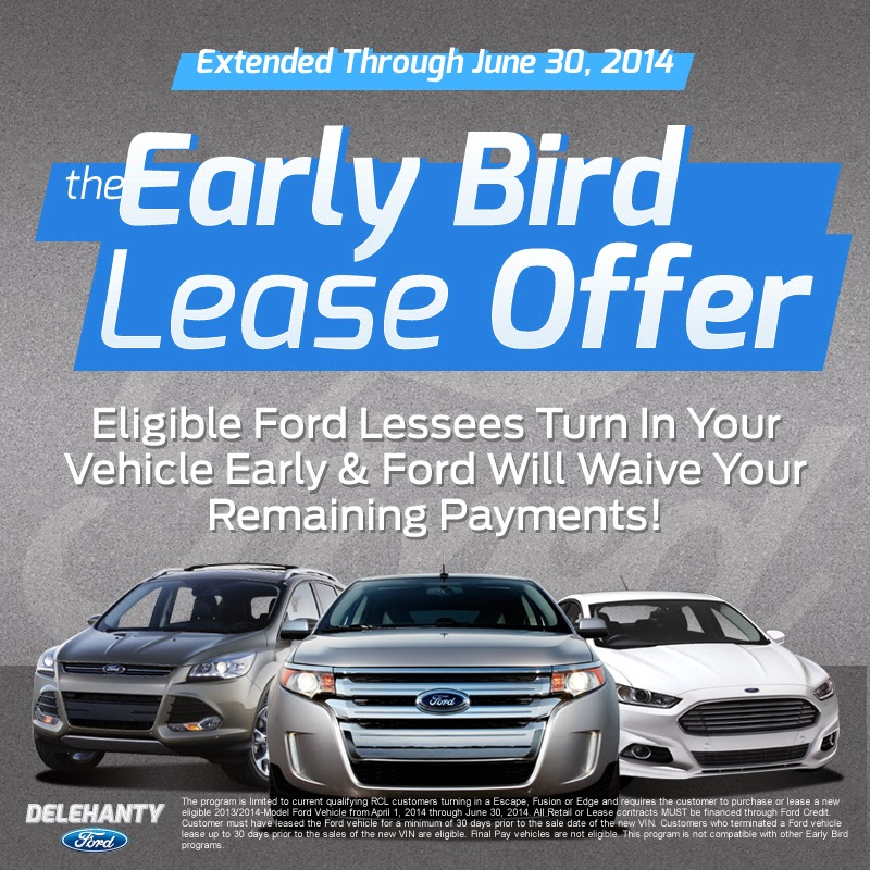 Ford's Extended Early Bird Lease Program