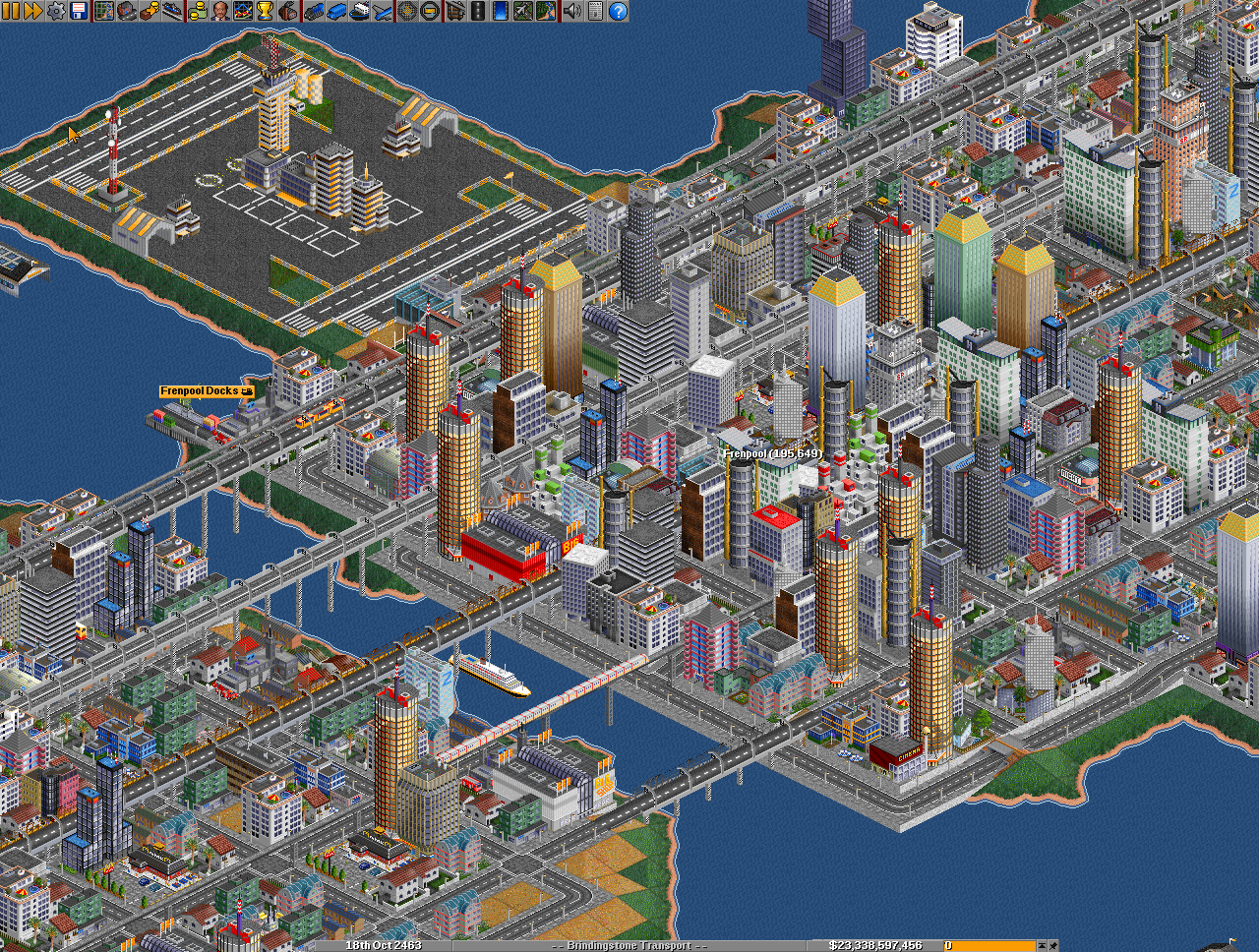 indie retro news openttd v1 3 3 open source transport tycoon deluxe has a new final release