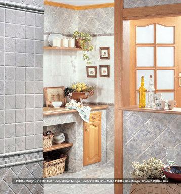 Ceramicas decorando interiores - Losas para cocina ...