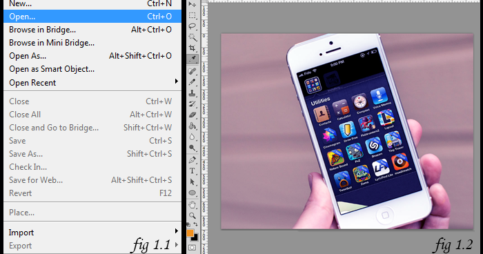... HOW TO: Add a Device Frame around your App Screenshot in Photoshop CS6